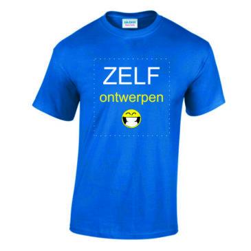 T-shirt zelf ontwerpen