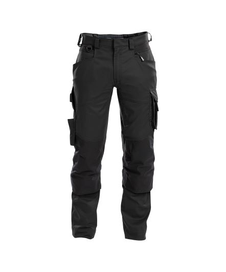 dynax_work-trousers-with-stretch-and-knee-pockets_black_front – kopie