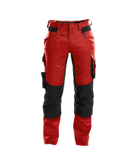 dynax_work-trousers-with-stretch-and-knee-pockets_red-black_front