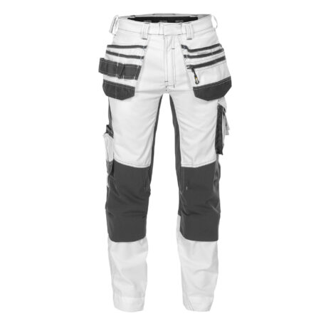 flux-painters_painter-trousers-with-stretch,-holster-pockets-and-knee-pockets_white-anthracite-grey_front