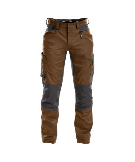 helix_work-trousers-with-stretch_clay-brown-anthracite-grey_front
