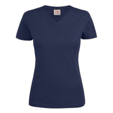 HEAVY T-SHIRT LADY V-NECK