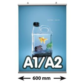 Poster Fast klemmen, A1/A2, lengte 600 mm