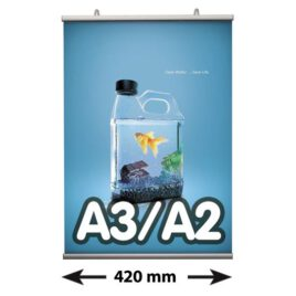 Poster Fast klemmen, A3/A2, lengte 420 mm