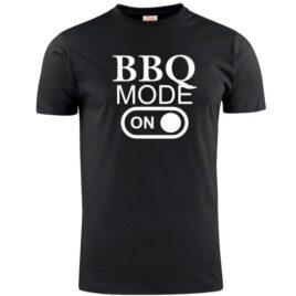 T-shirt BBQ mode