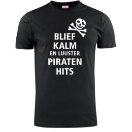 T-shirt Blief kalm luister piraten