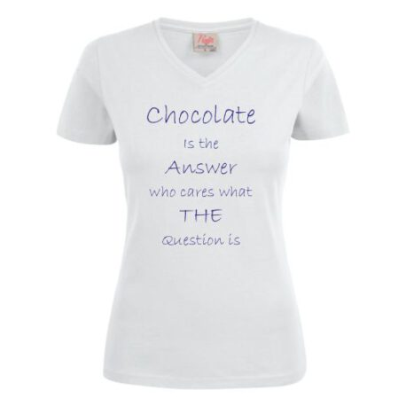 dames chocola wit