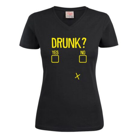 dames drunk zwart