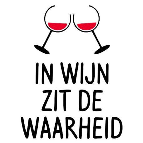 tekst wijn waarheid