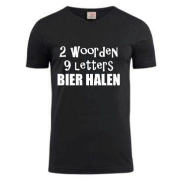 T-shirt Bier Halen