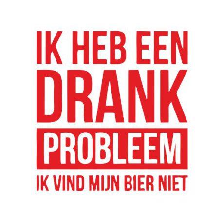heren drank probleem tekst