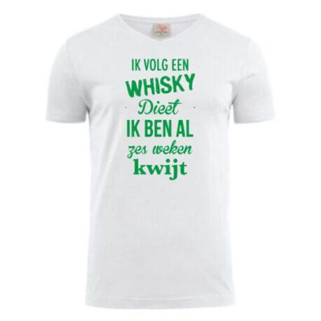 heren whisky dieet wit