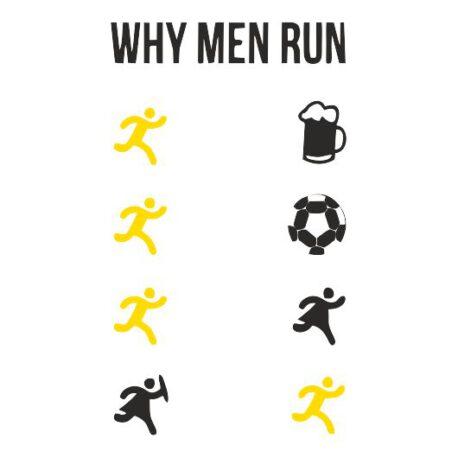 heren why men run tekst