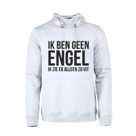 heren hoodie geen engel