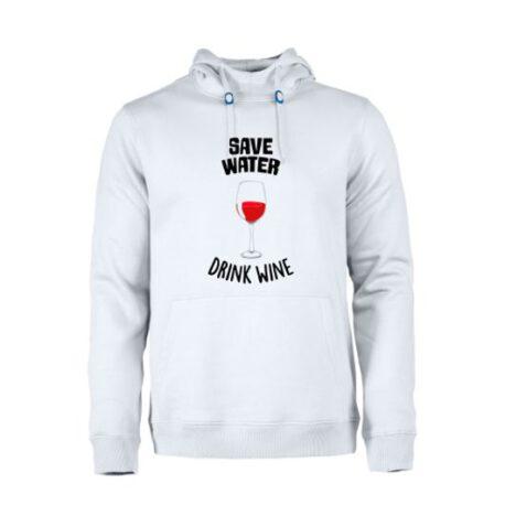 heren hoodie save water