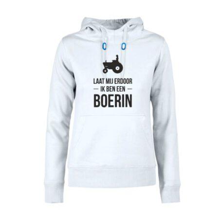 hoodie dames boerin