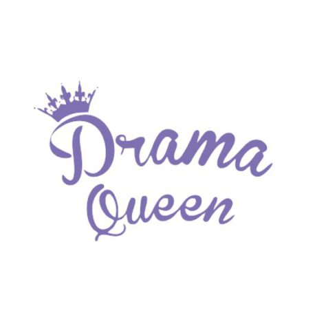 hoodie dames drama queen tekst – kopie