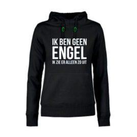 dames hoodie Ik ben geen Engel