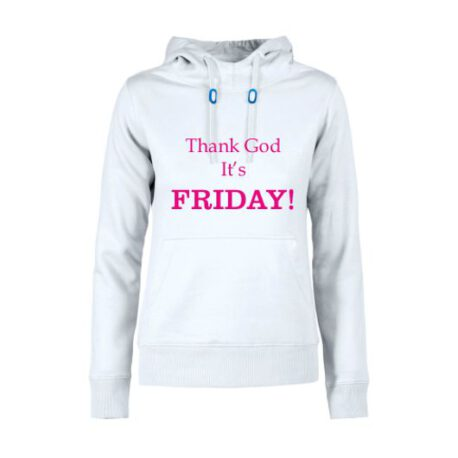 hoodie dames thank god friday