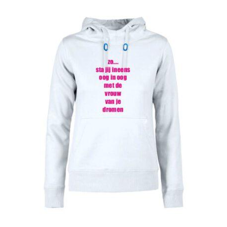 hoodie dames vrouw van dromen
