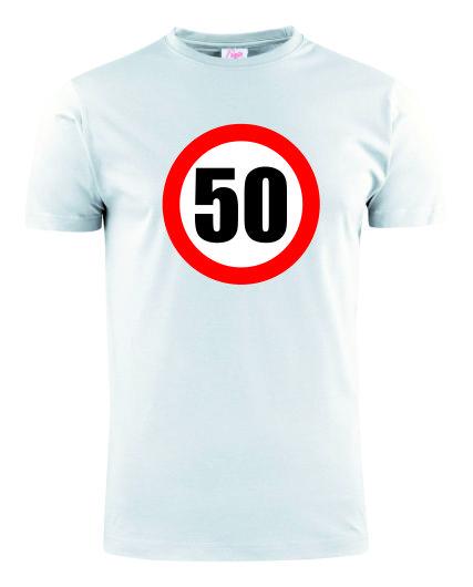 50VERKEERSBORDWIT