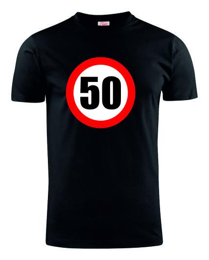 50VERKEERSBORDZWART
