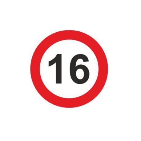 dames hoodie 16 logo