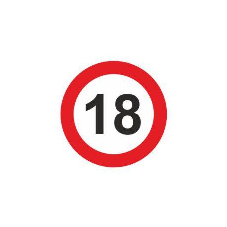 dames hoodie 18 logo