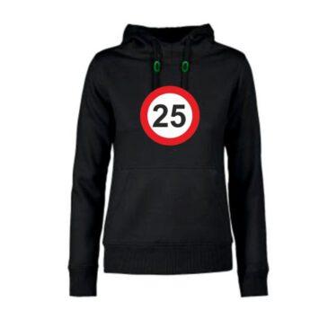 Dames hoodie 25 jaar