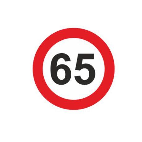 dames hoodie 65 logo