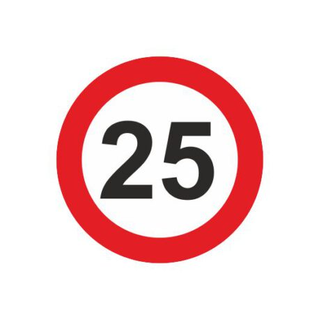 dames shirt 25 logo