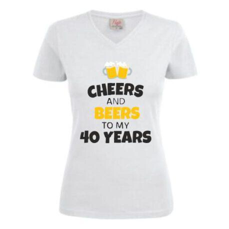 dames shirt 40 bier
