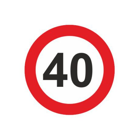 dames shirt 40 logo