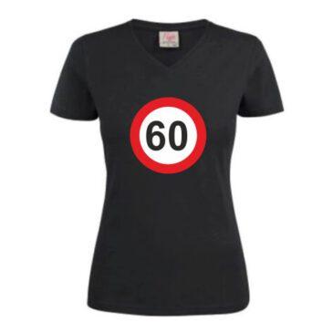 Dames T-Shirt 60 jaar