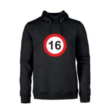 Heren hoodie 16 jaar