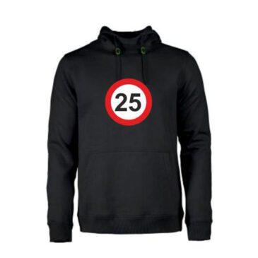 Heren hoodie 25 jaar