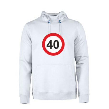 heren hoodie 40
