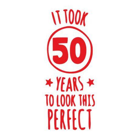 heren hoodie 50 jaar logo