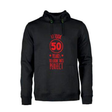 heren hoodie 50 jaar