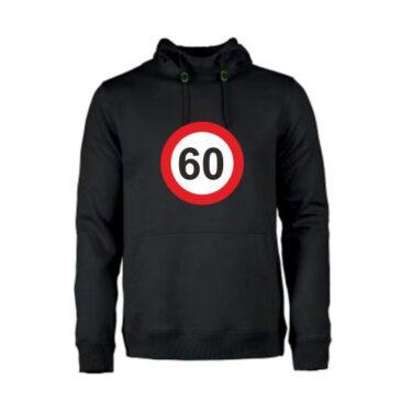 Heren hoodie 60 jaar
