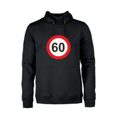 heren hoodie 60 zwart