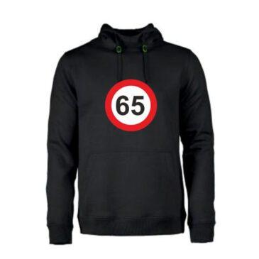 Heren hoodie 65 jaar