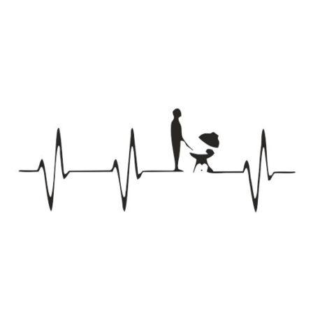 heren hoodie heart bbq logo