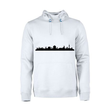 heren hoodie skyline markelo