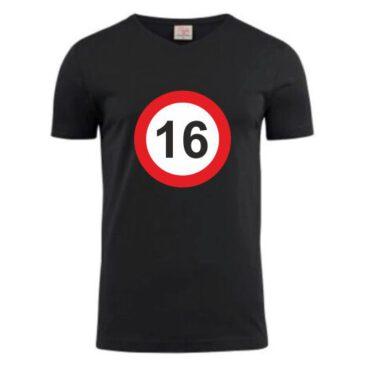 T-Shirt 16 jaar