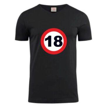 T-Shirt 18 jaar