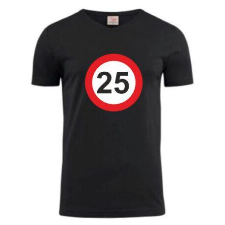 heren shirt 25 zwart