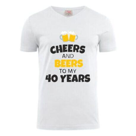 heren shirt 40 bier