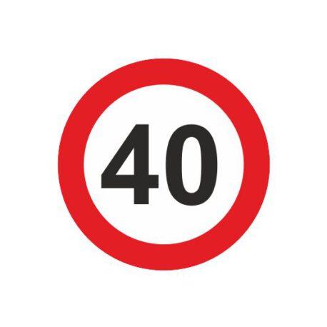 heren shirt 40 logo