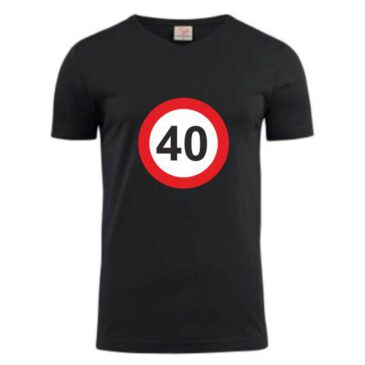 T-Shirt 40 jaar